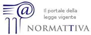 Normativa - il portale della legge vigente